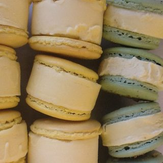 French Macaron Ice Cream Sandwiches